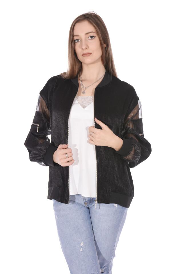 Jacheta dama sport/casual - negru-