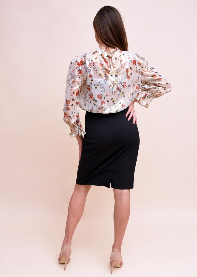 Rochie eleganta cu imprimeu floral
