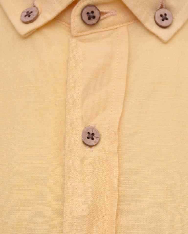 Camasa barbati regular-fit galben