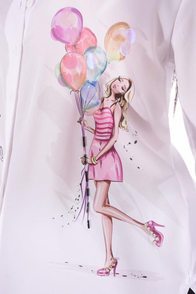 """Camasa casual """" Balloons """" E"""