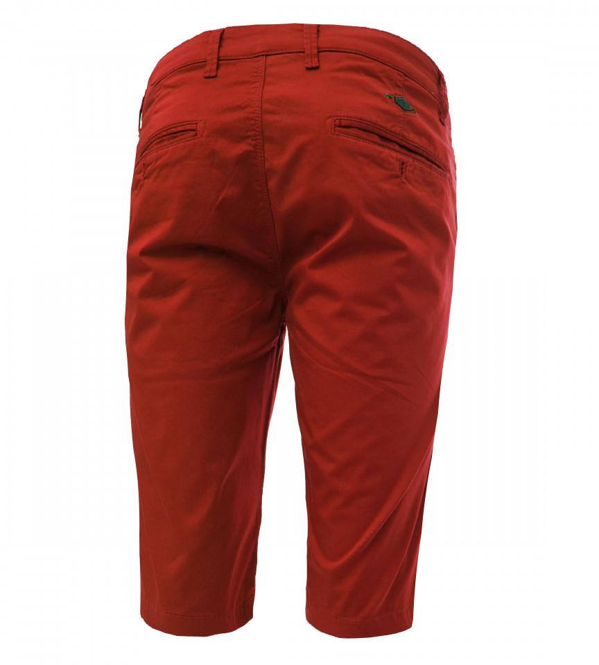 Pantaloni Chinos 3/4 Pitbull-rosu