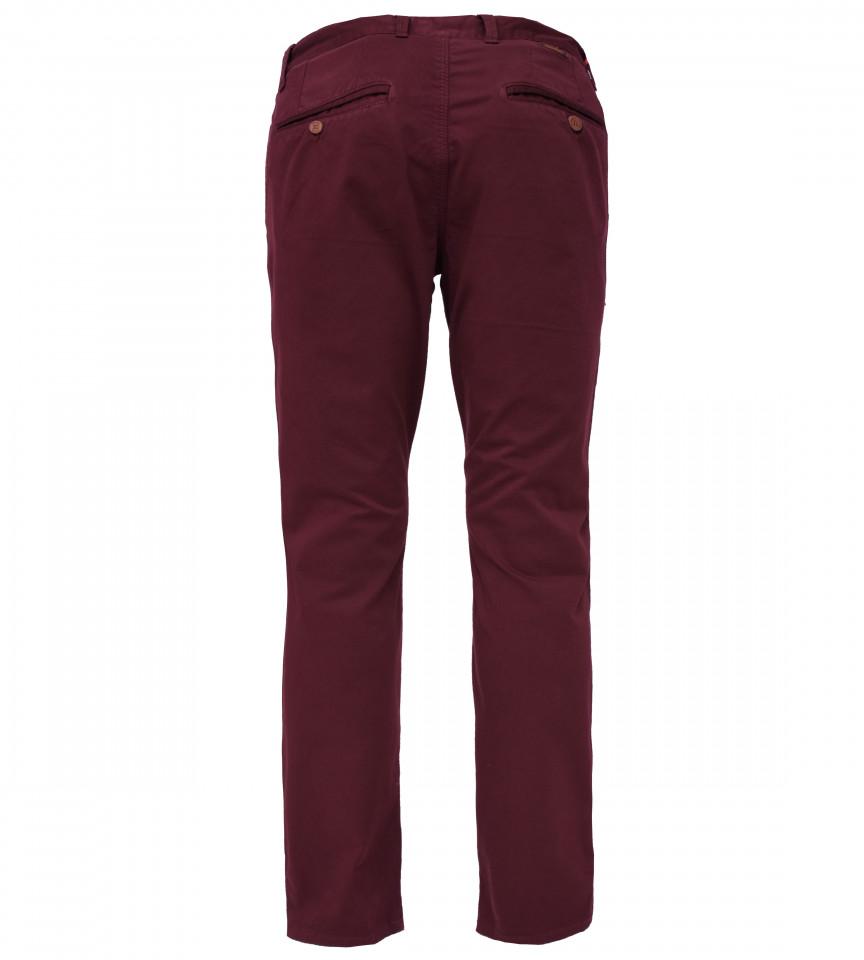 Pantaloni Chinos clasici - grena