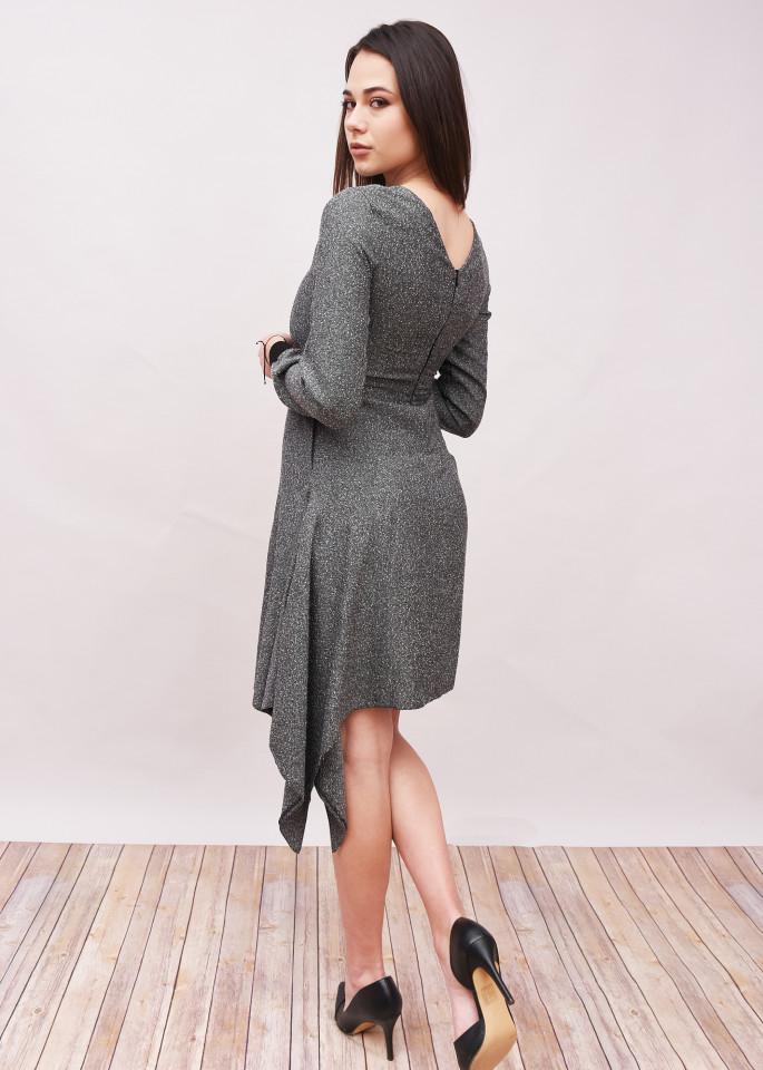 Rochie eleganta cu maneca lunga