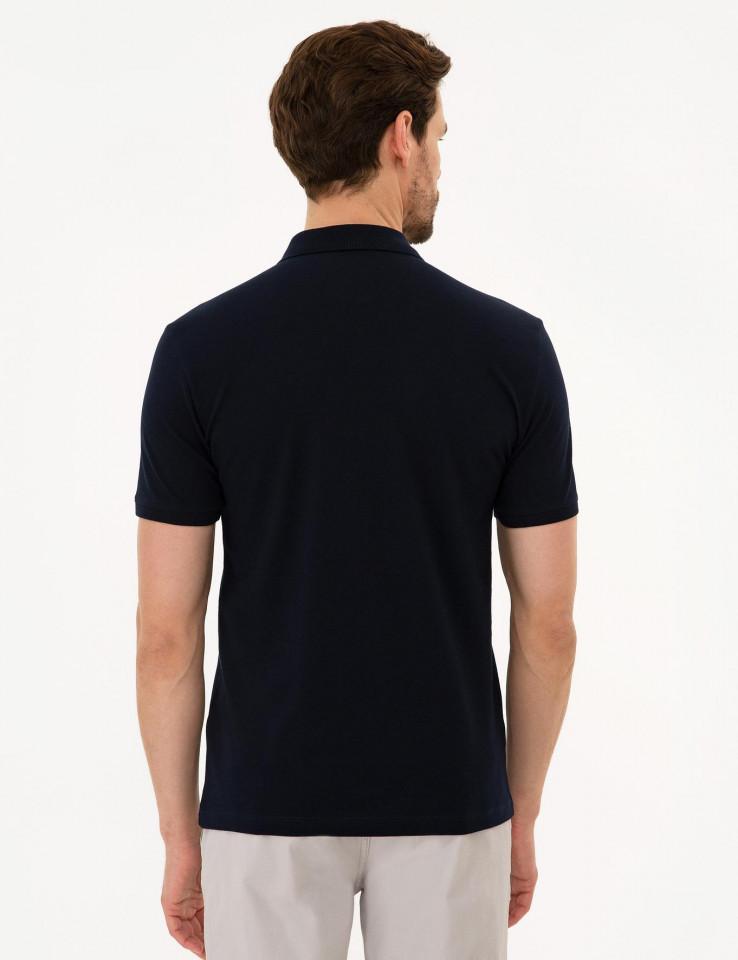 Tricou Polo Bleumarin PIERRE CARDIN