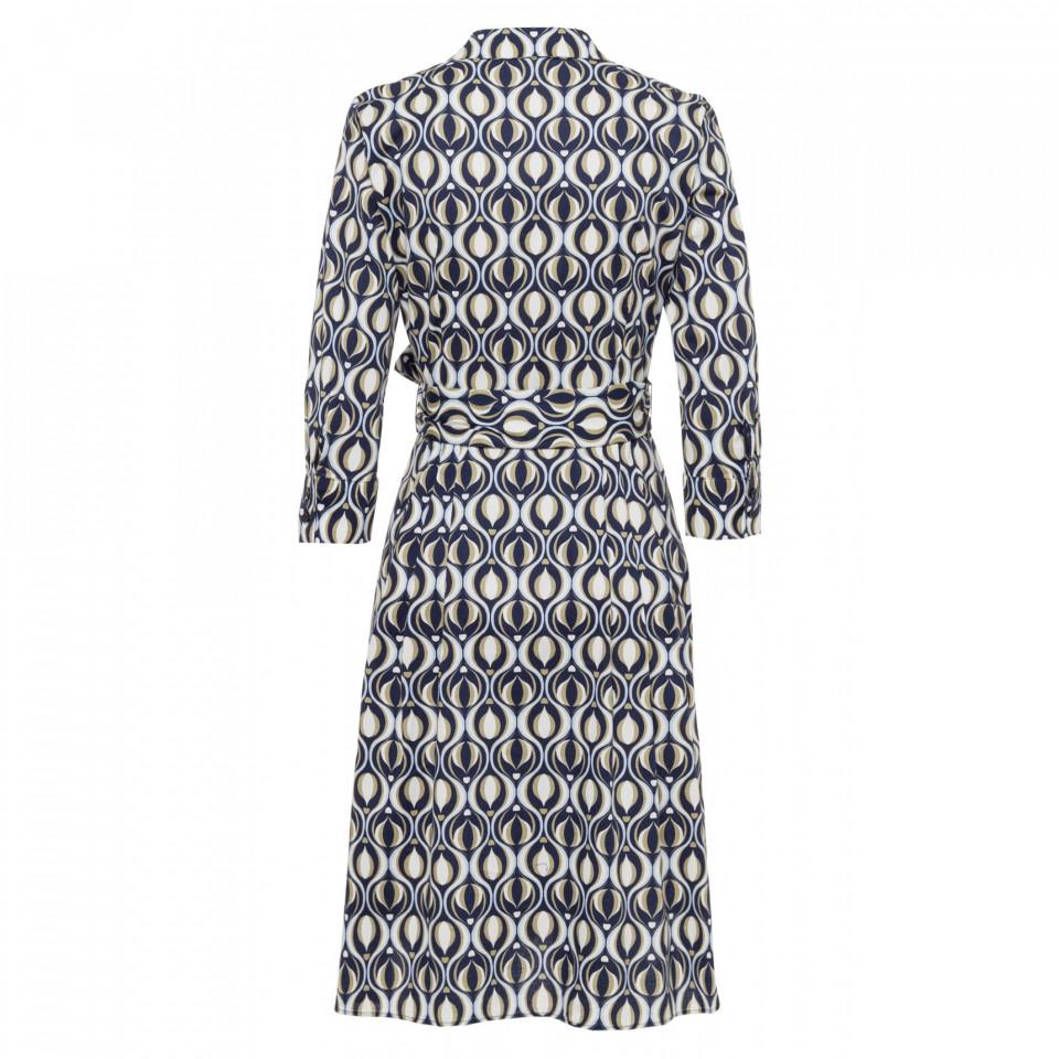 Rochie camasa cu imprimeu grafic