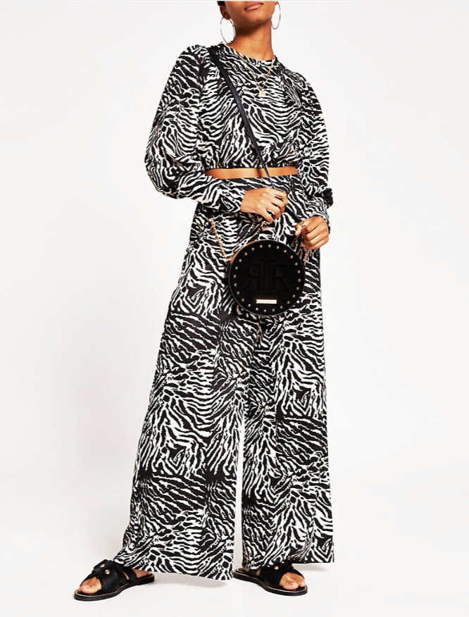 Top animal print River Island -E