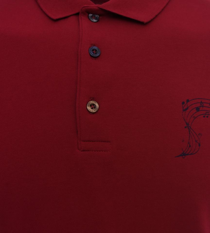 Tricou Polo Barbati Slim Fit Tony Montana -grena