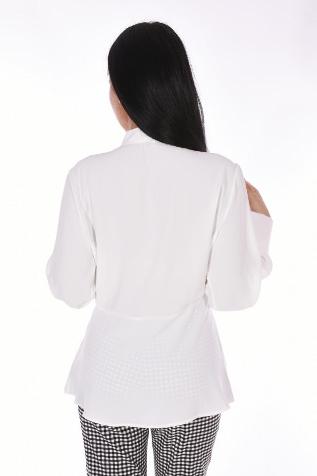 Camasa eleganta Sara - alb-