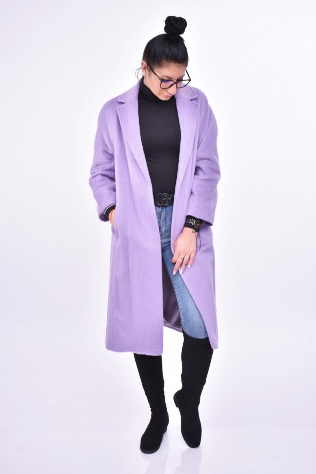 Palton elegant cu cordon E