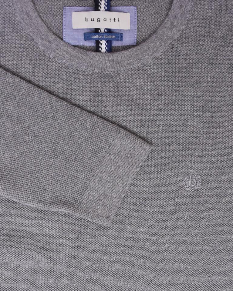 Pulover tricotat din amestec