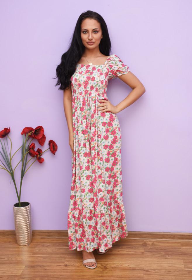 Rochie dama maxi cu imprimeu floral Briella