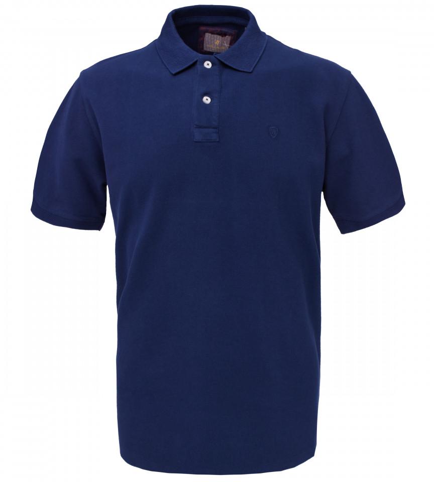 Tricou Polo Barbati Regular Fit Wellalux -bleumarin