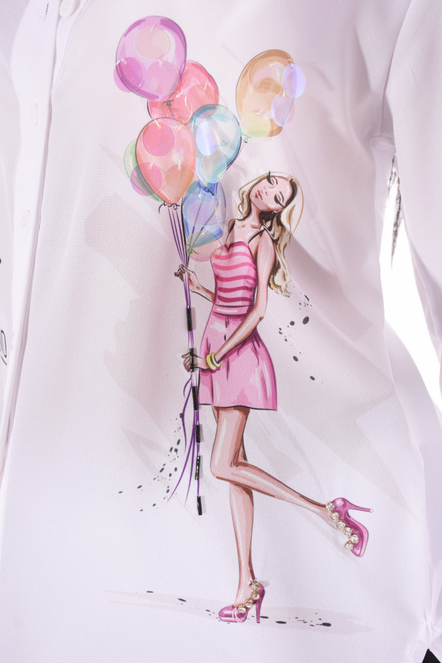 "Camasa casual "" Balloons """