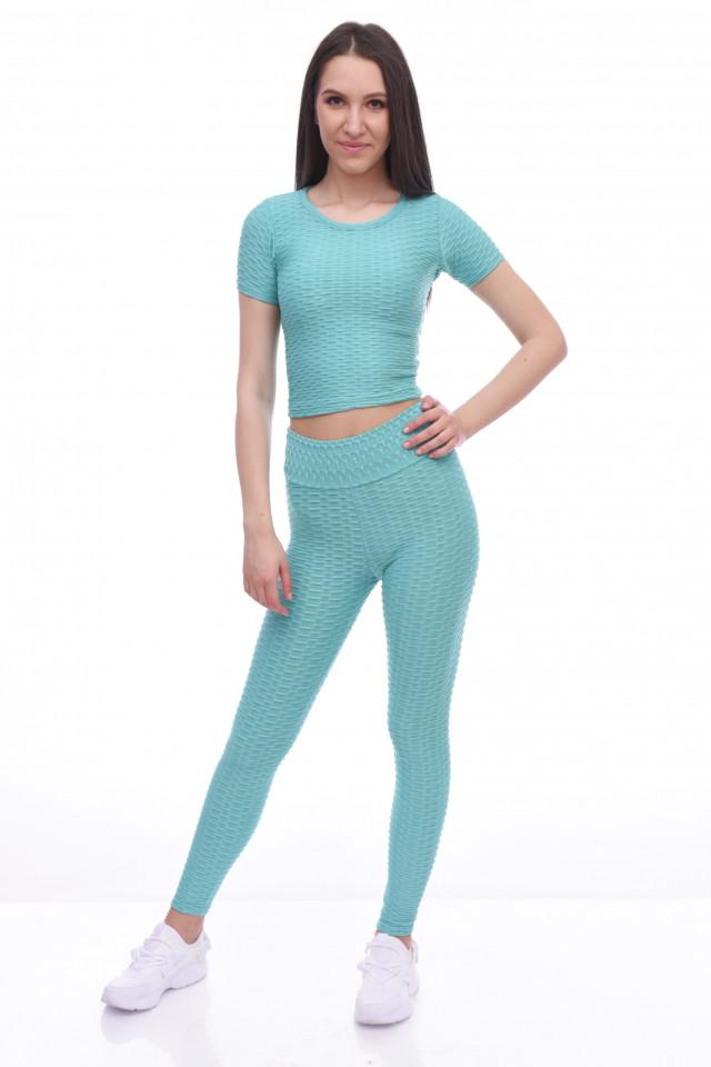 Compleu fitness Asha -turcoaz-