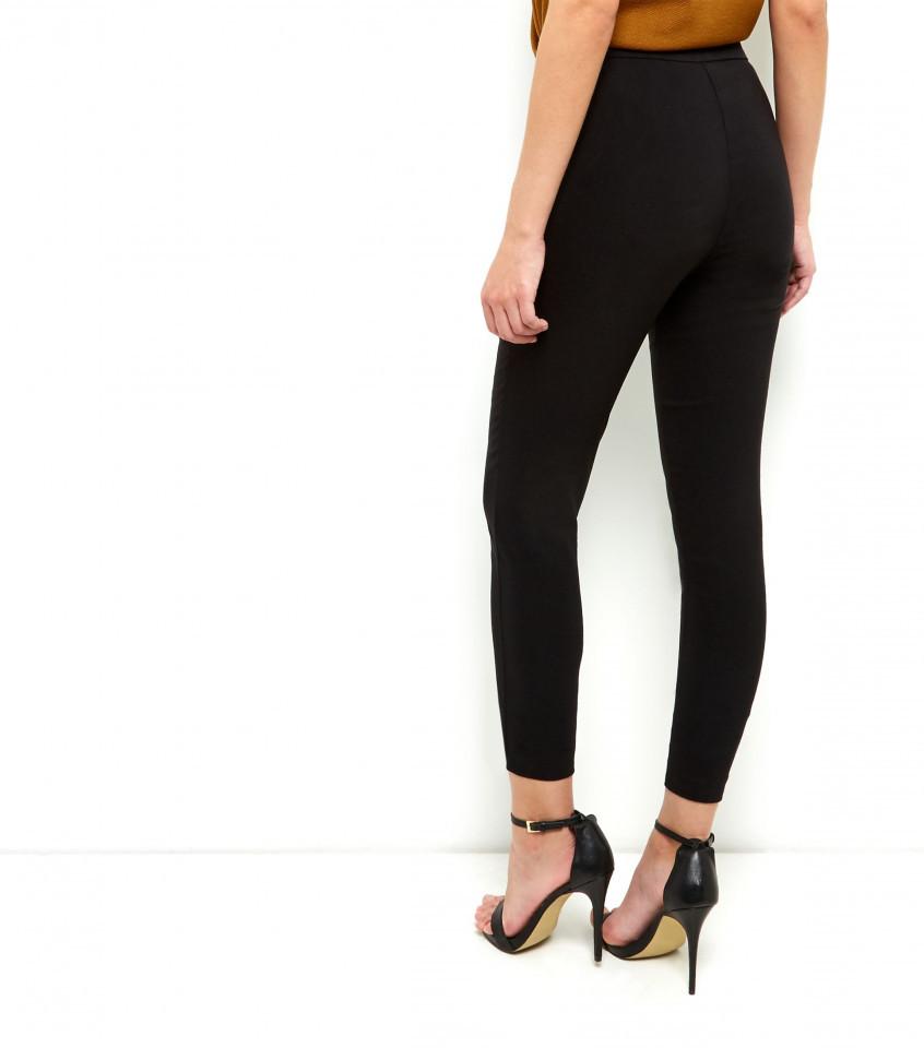 Pantaloni cu fermoare New Look