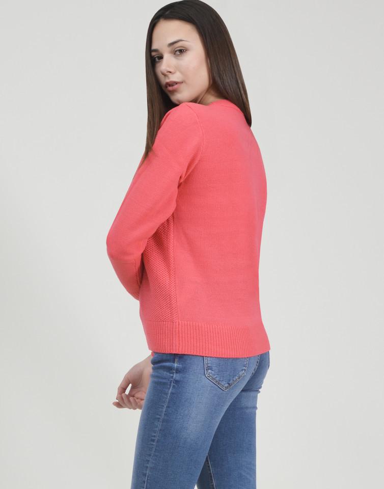 Pulover dama roz