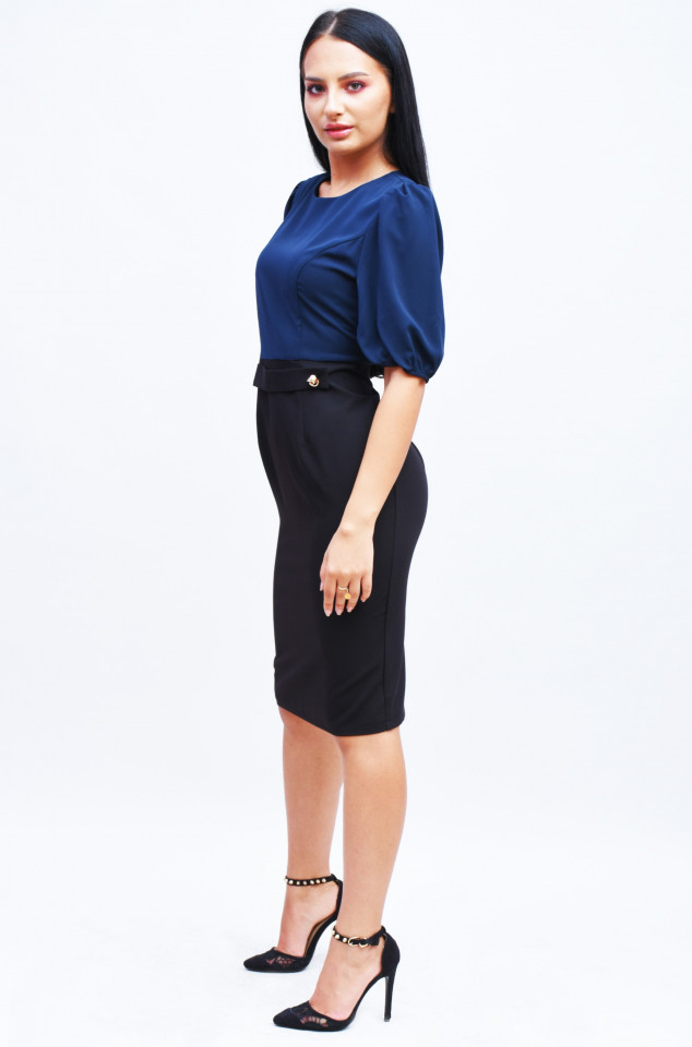 Rochie cu nasture Marina Kaneva