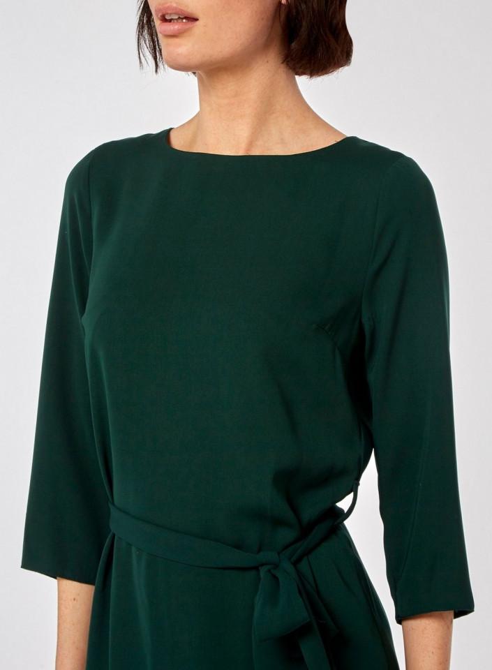 Rochie verde cu cordon Dorothy Perkins