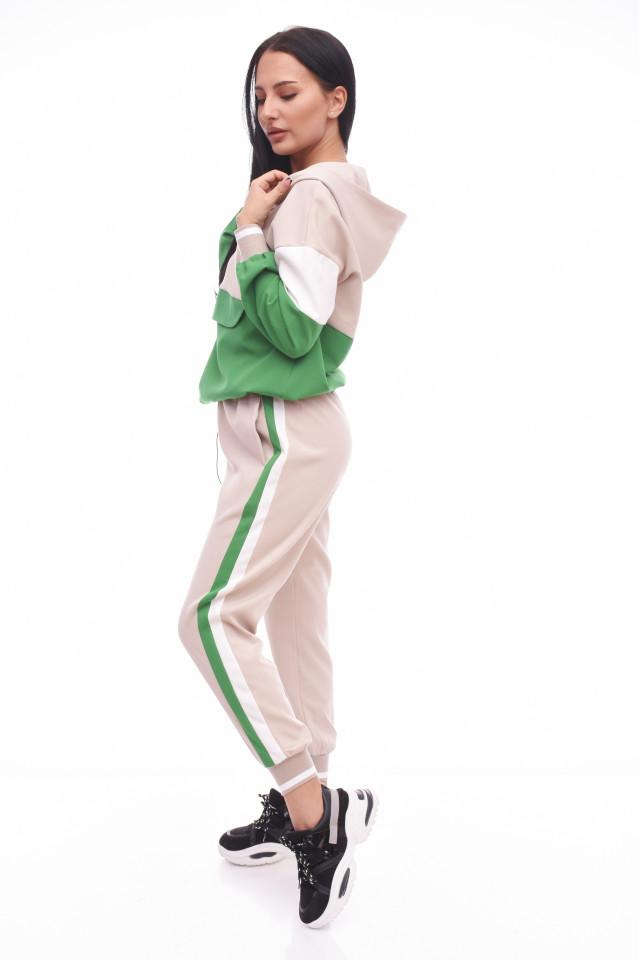 Trening cu dungi-verde-
