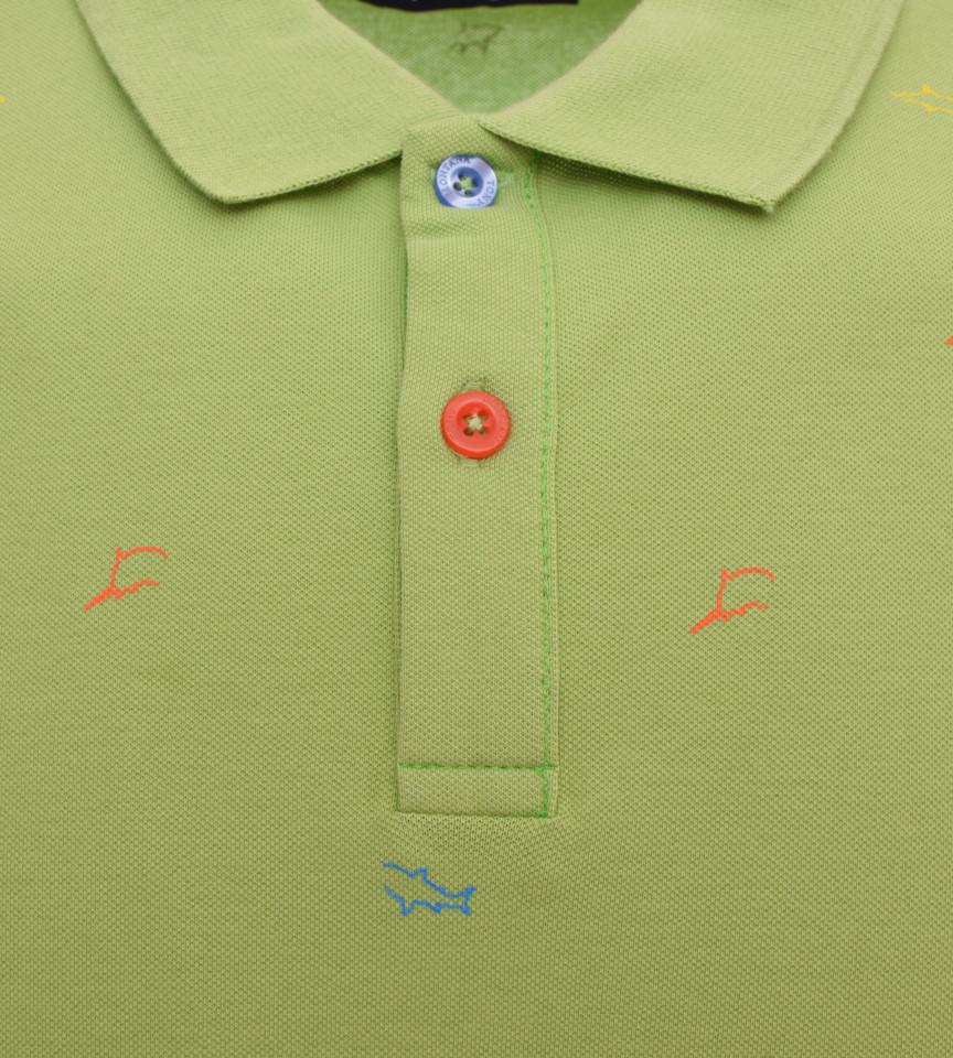 Tricou Polo Barbati Regular fit Tony Montana - Shark-verde