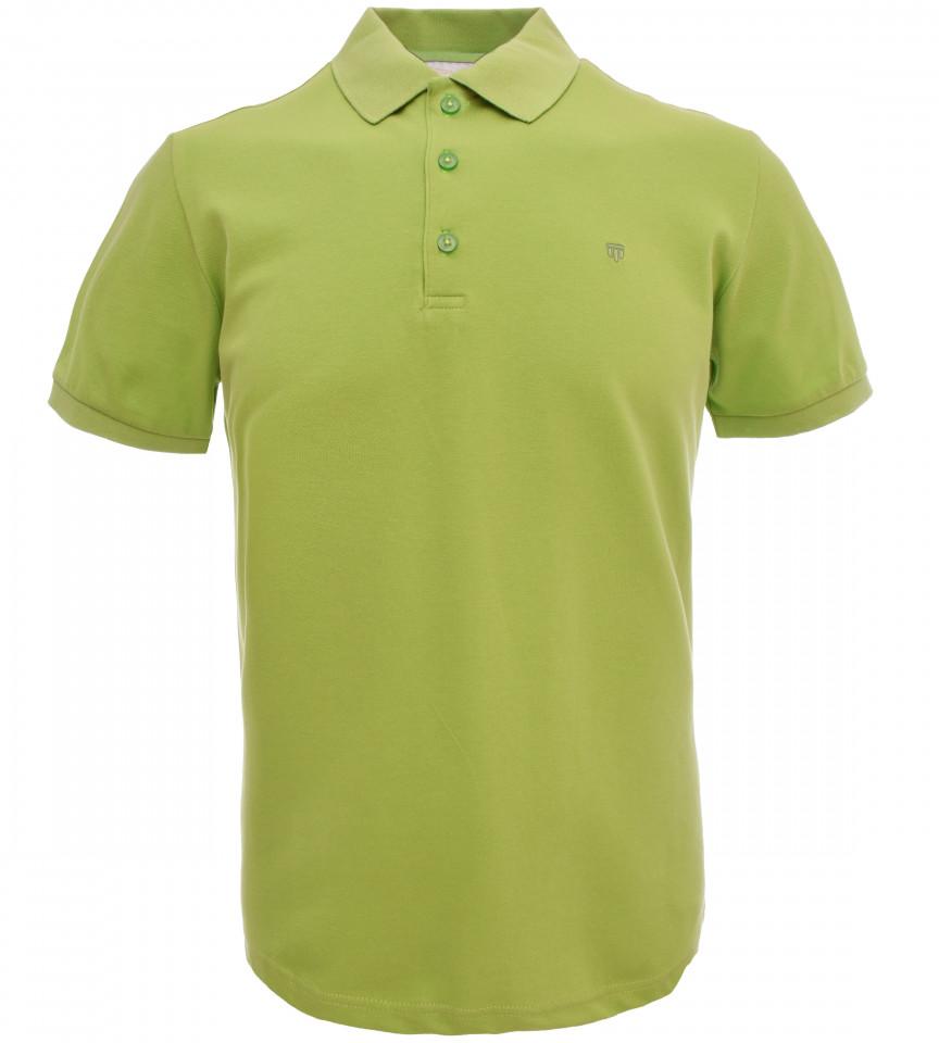 Tricou Polo Barbati Slim Fit Tony Montana -verde deschis