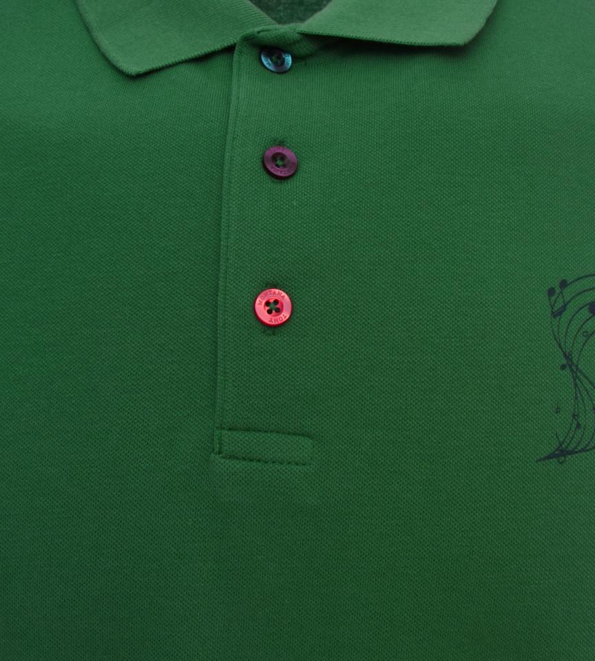 Tricou Polo Barbati Slim Fit Tony Montana -verde