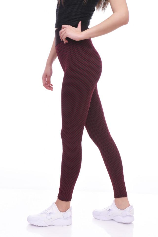 Colanti fitness cu talie inalta si efect modelator Britney--grena-