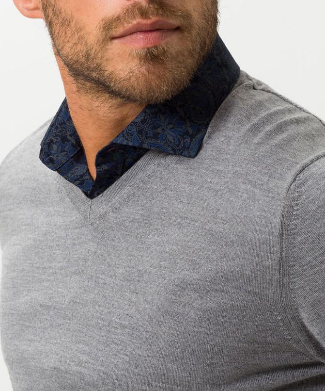 Pulover moale din lana merinos BRAX