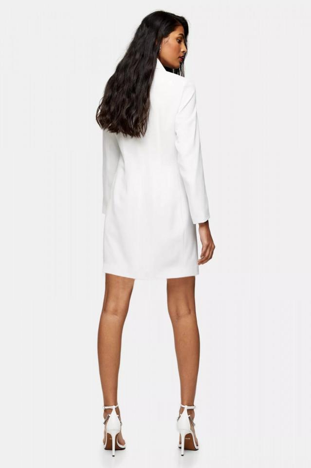 Rochie blazer cu maneca lunga