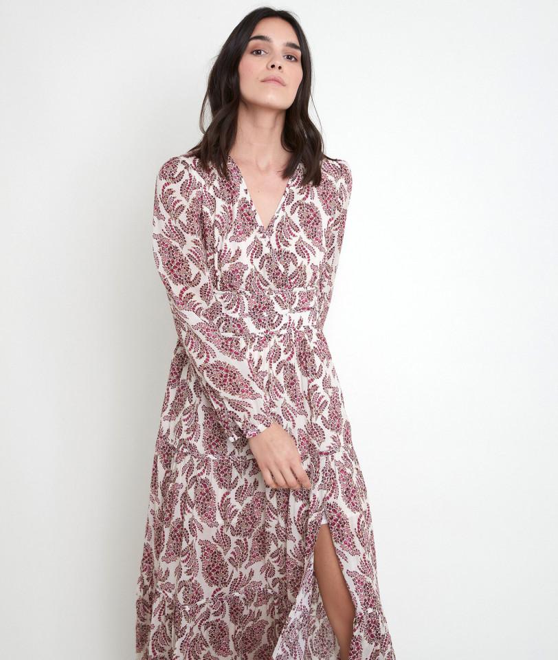Rochie maxi din vascoza