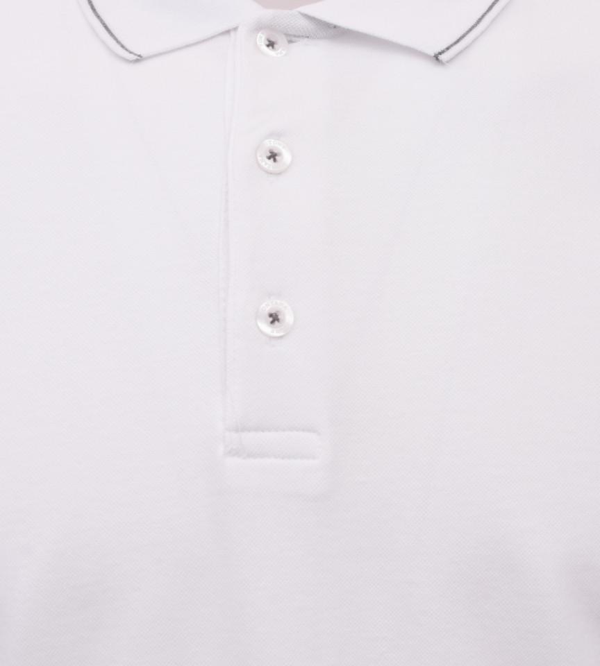 Tricou Polo Barbati Regular Fit Tony Montana- Yachting-alb