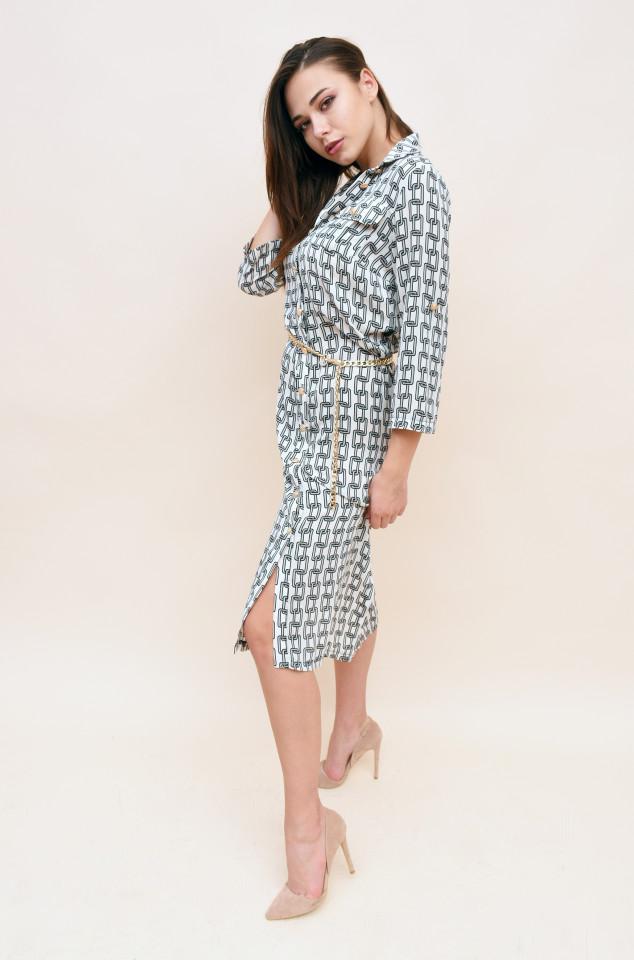 Rochie mini cu imprimeu