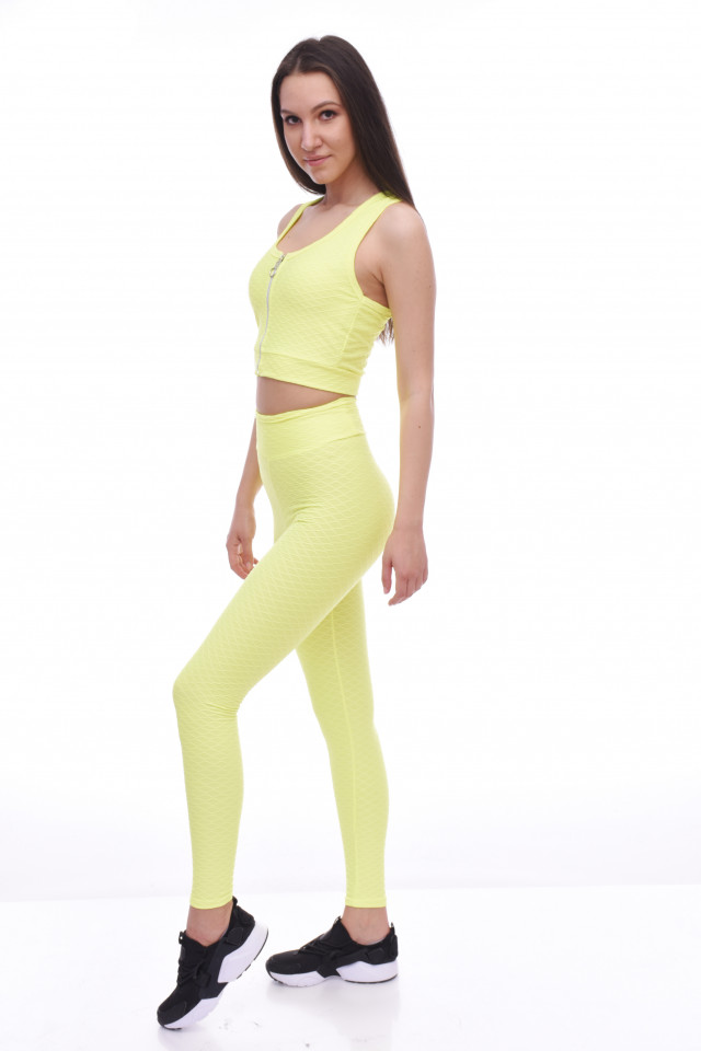 Compleu fitness ANNA-lime-