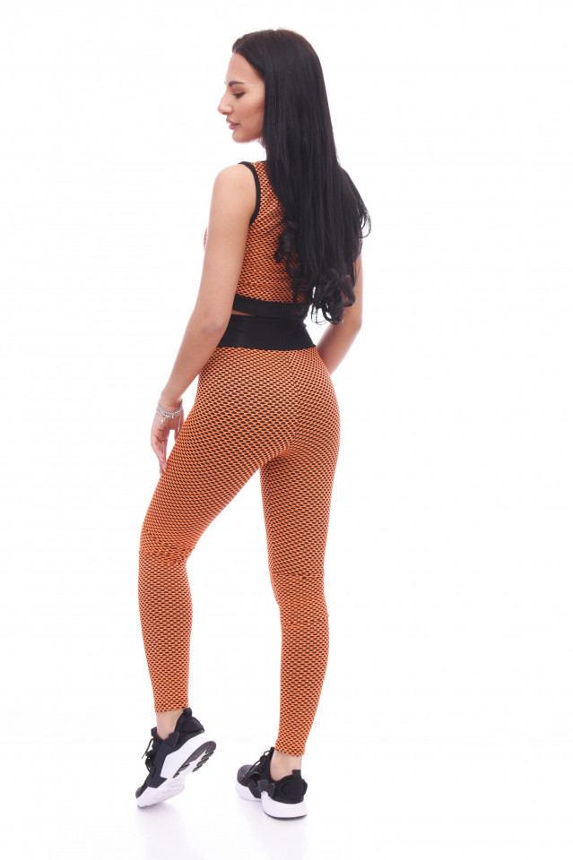 Compleu fitness Maya -portocaliu-