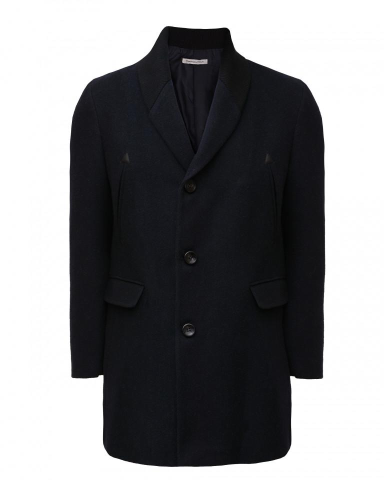 Palton bleumarin Tony Montana