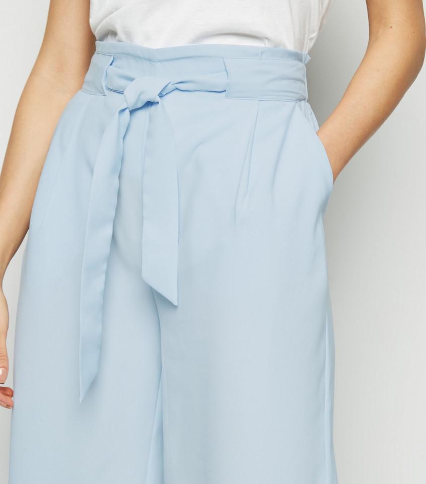 Pantaloni 3/4 light blue