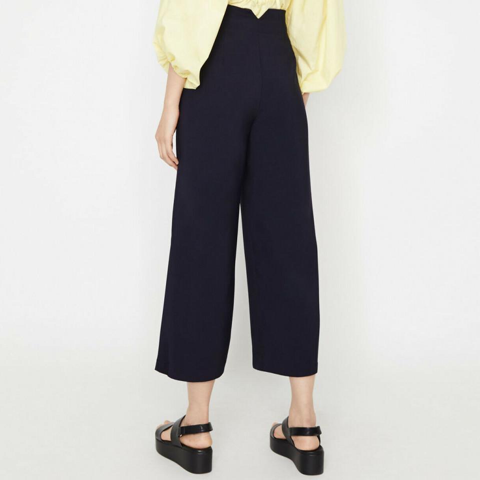 Pantaloni Bleumarin WAREHOUSE