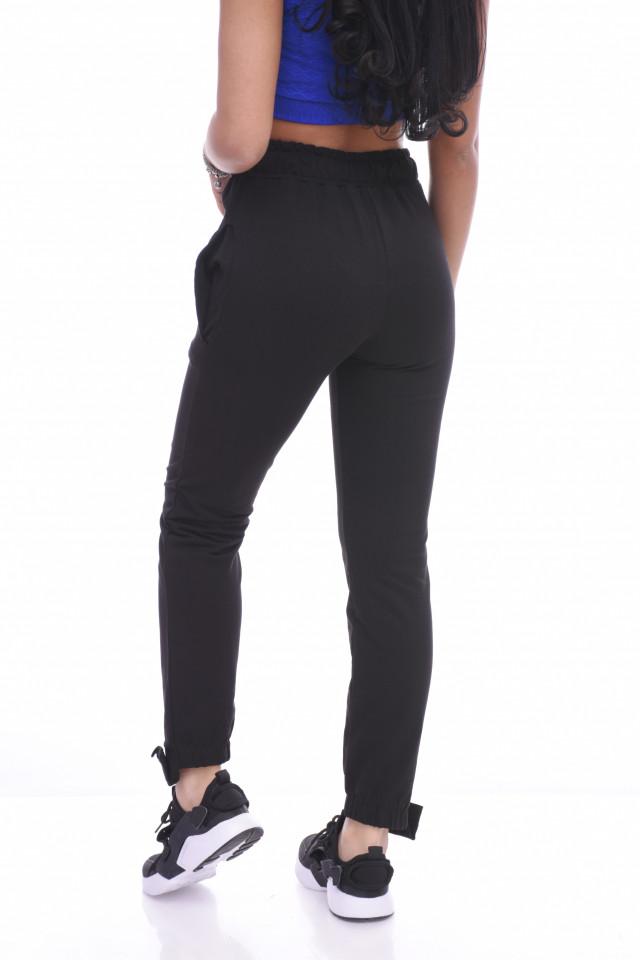 "Pantaloni dama sport ""Forever ""- negru -"