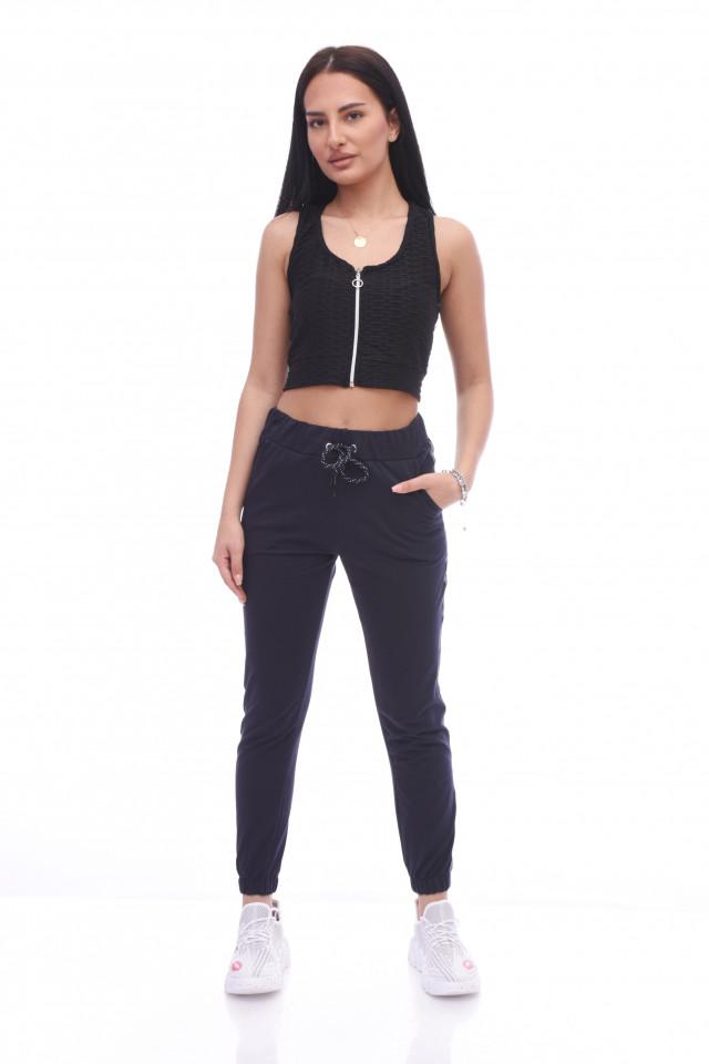 Pantaloni dama sport Nora - bleumarin -