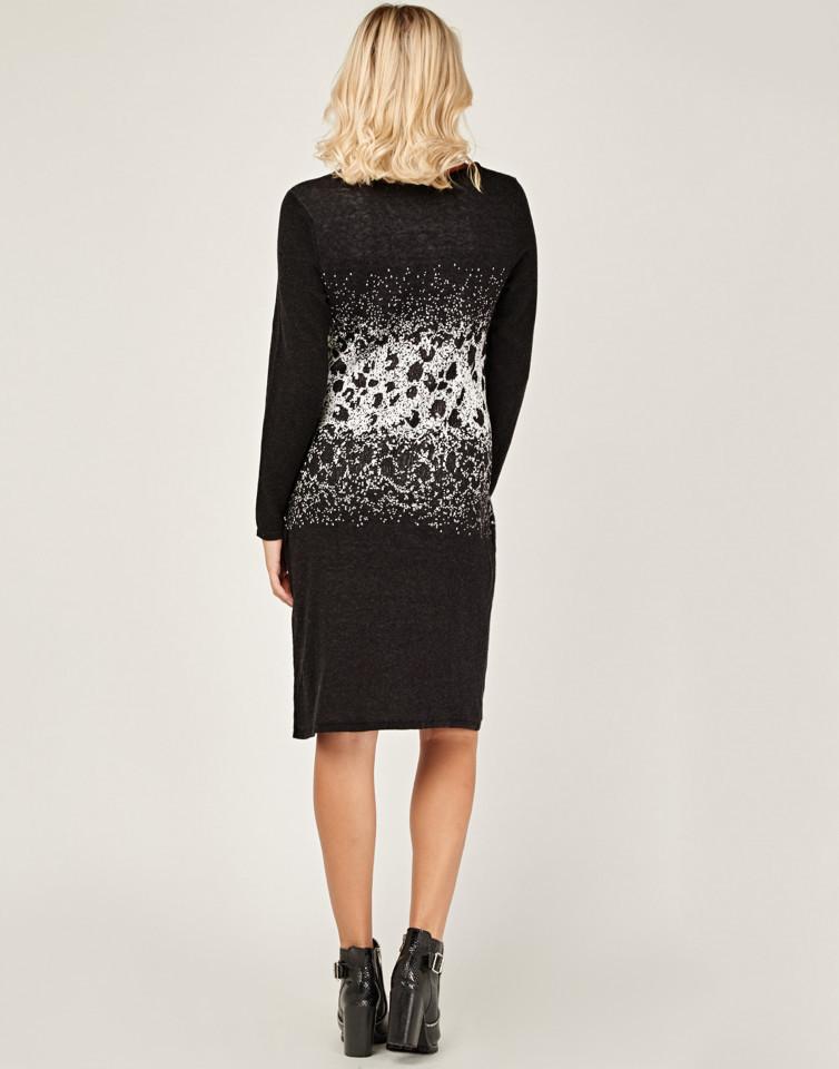 Rochie midi din tricot