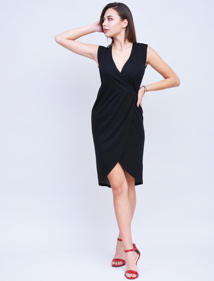 Rochie neagra Bodycone French Connection