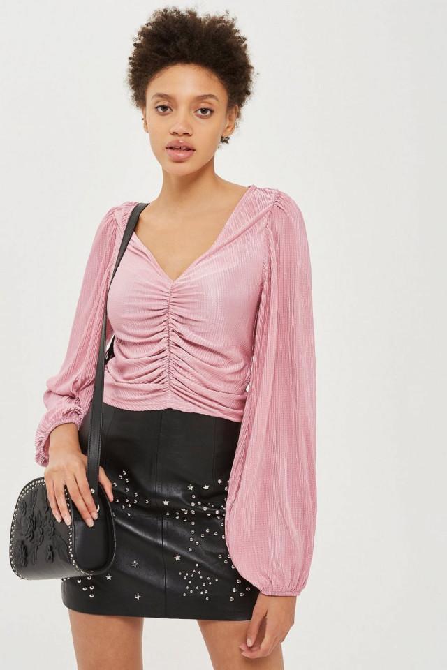 Bluza roz Topshop