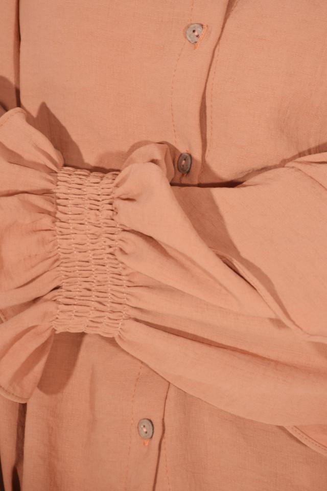 Camasa eleganta Evelyn - camel-