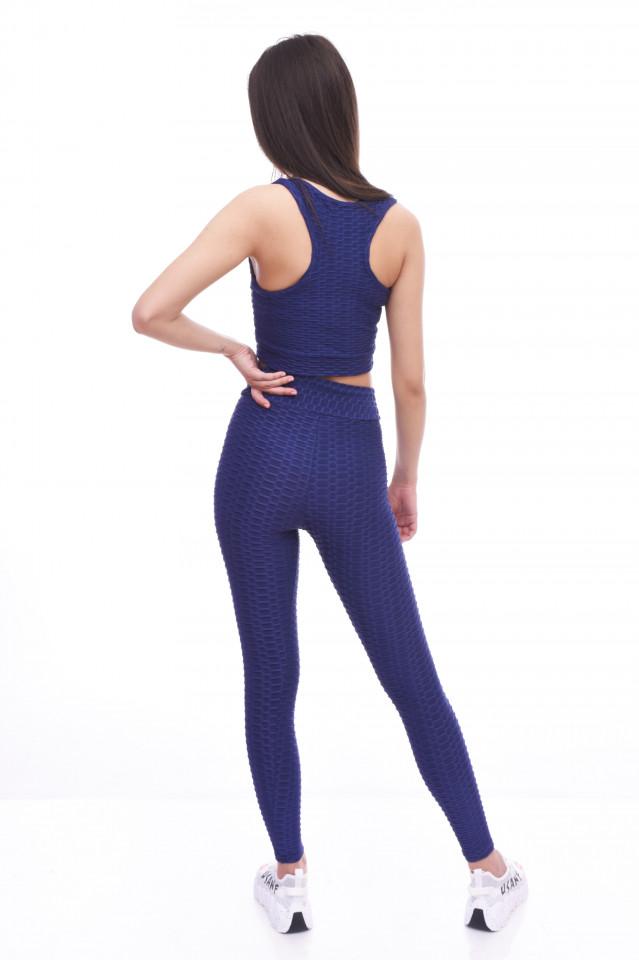 Compleu fitness ANNA-bleumarin-