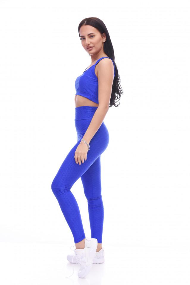 Compleu fitness Maya -albastru-