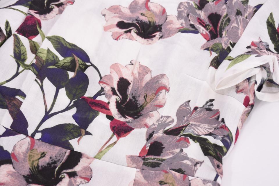 Rochie midi cu imprimeu floral Lisa