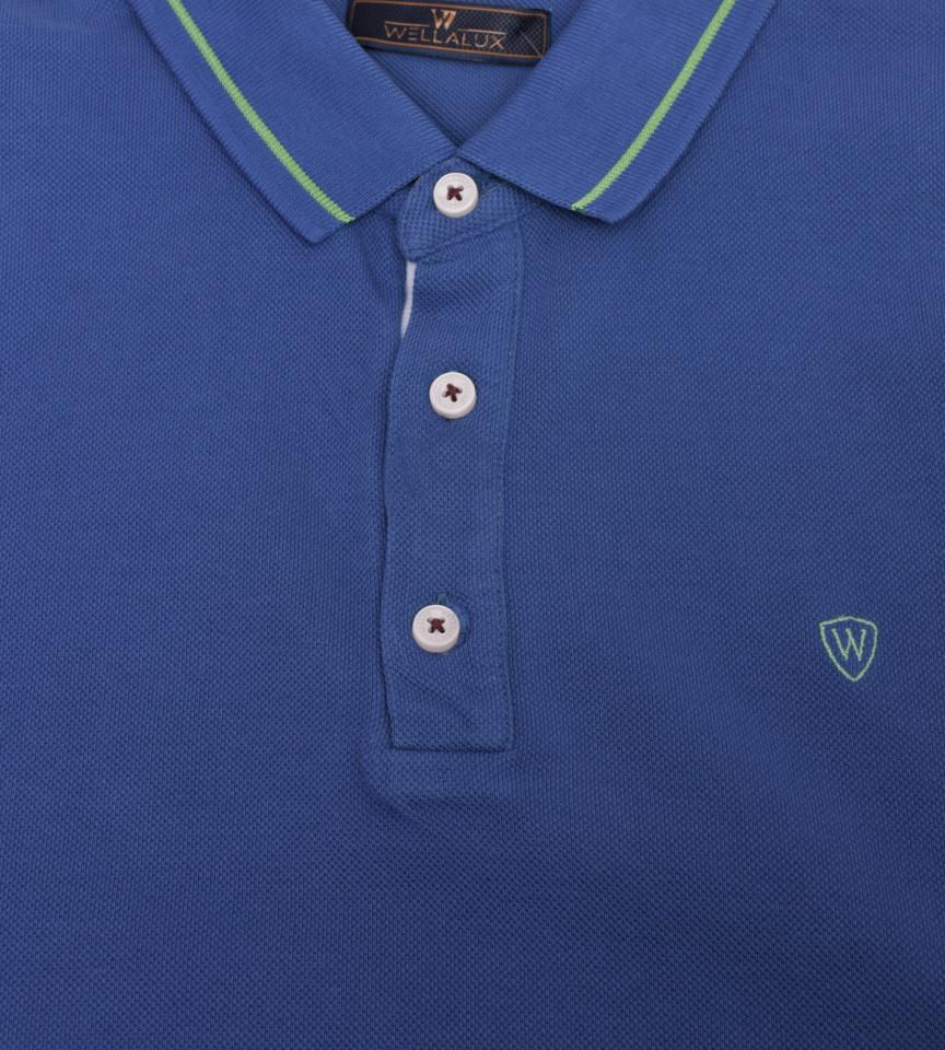 Tricou Polo Barbati Regular fit albastru