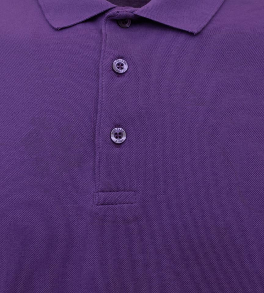 Tricou Polo Barbati Regular Fit Tony Montana- Leaf Print-Mov