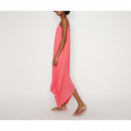 Rochie maxi roz Warehouse