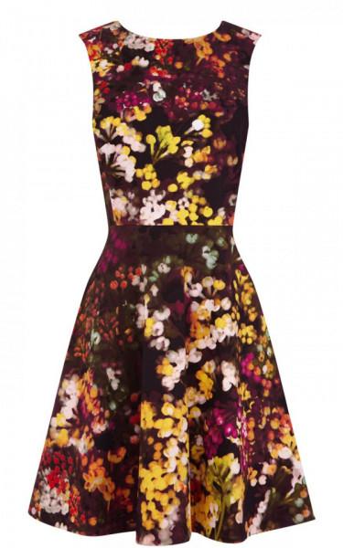 Rochie floral print KAREN MILLEN